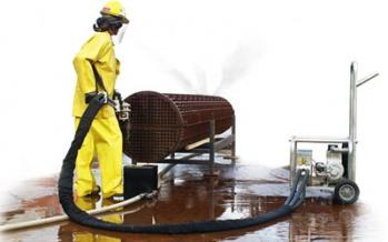 Su Jeti İle Endüstriyel Temizlik