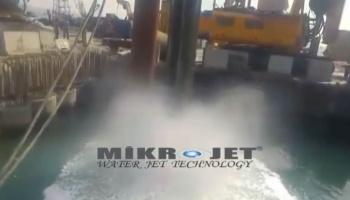 Su Jeti İle Liman Altı Balçık Temizliği